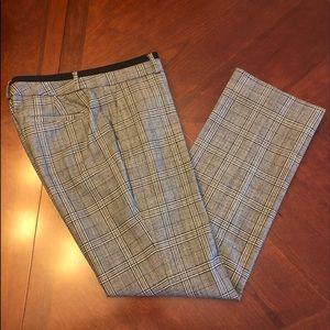 Banana Republic Martin Fit Plaid Pants Size 4